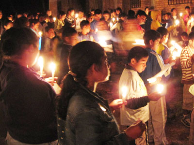 Las Posadas Tradiciones Navidenas Honduras