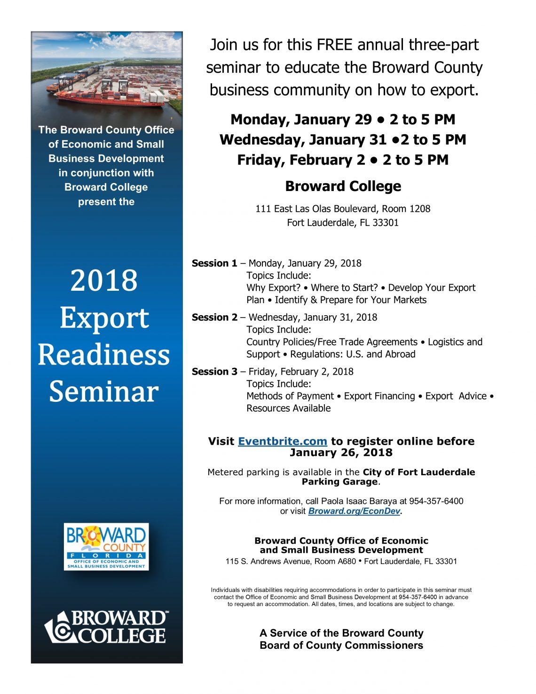 2018 Export Readiness Seminar FINAL_010518